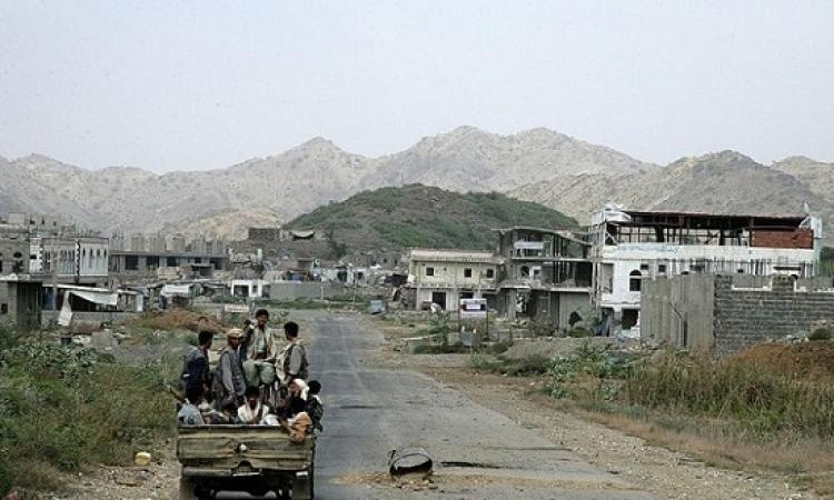 مقتل عشرات الحوثيين فى قصف للتحالف ومواجهات فى تعز