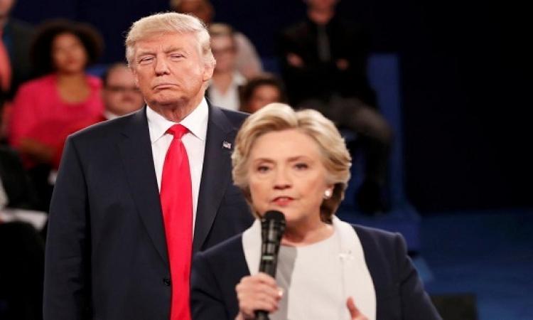 بعد المناظرة الثانية وفضيحة التسجيل .. كلينتون تتقدم على ترامب بـ 8 نقاط