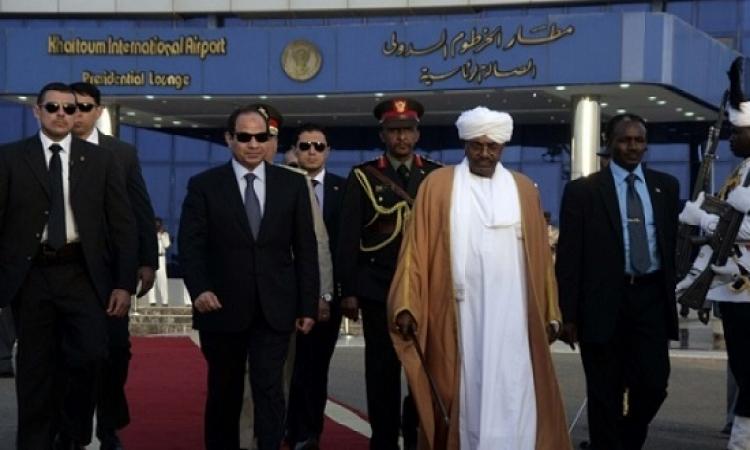 السيسى فى السودان للمشاركة فى مؤتمر الحوار الوطنى