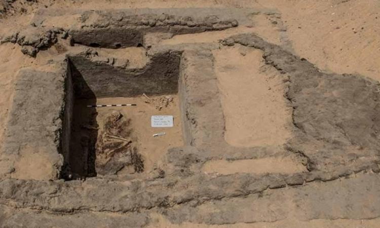 بالصور .. كشف جديد جنوب معبد الملك سيتى الأول بأبيدوس فى سوهاج