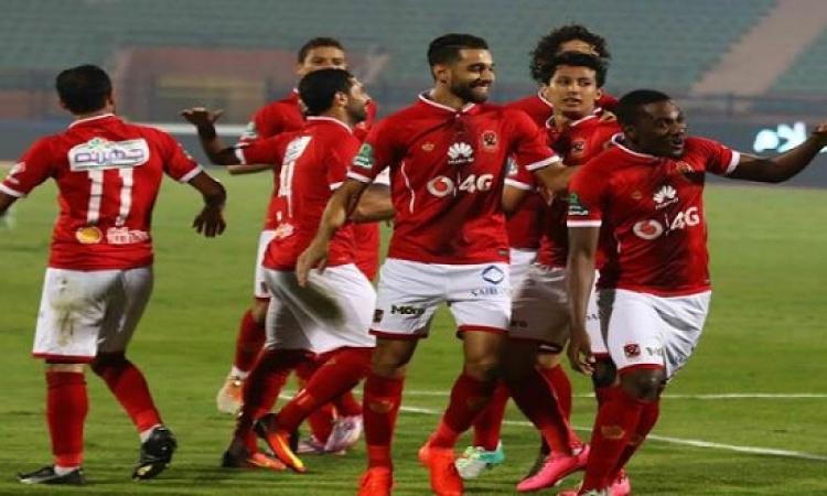 الأهلى يهزم حسين داى 2-1 ويصعد لنصف نهائى البطولة العربية