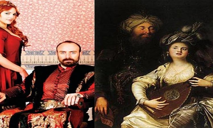 بالفيديو .. صور الشخصيات الحقيقية لمسلسل حريم السلطان