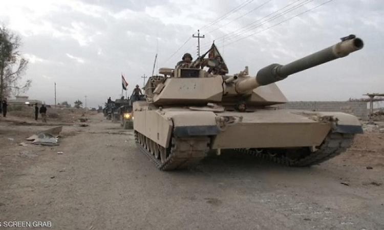 القوات العراقية تواصل التقدم غرب الموصل