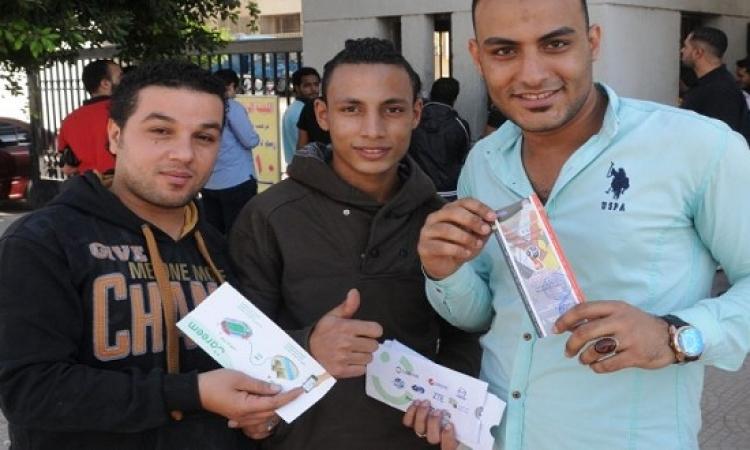 توزيع 150 تذكرة لمباراة مصر وغانا بكل المحافظات