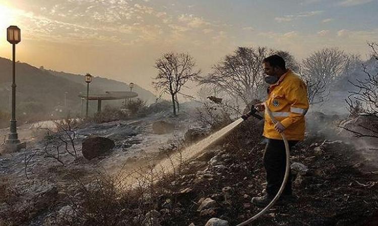 حريق يجتاح شمال إسرائيل وإجلاء آلاف السكان