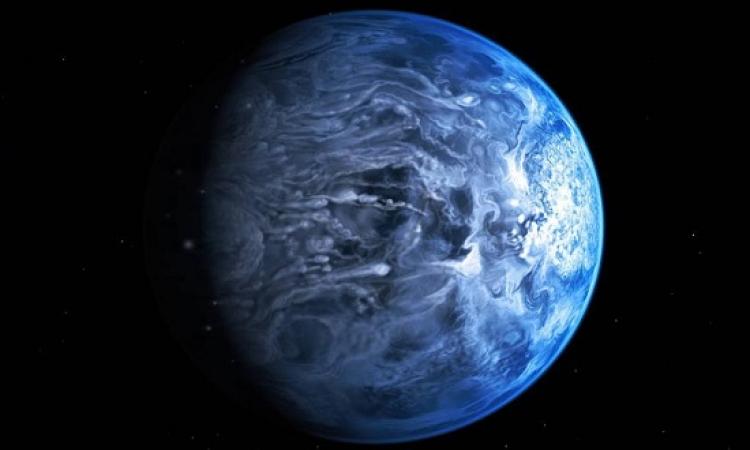 ناسا تكشف عن كوكب ضمن مجموعة المشترى يمطر زجاجاَ