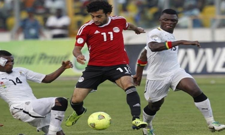 الفراعنة يواجهون غانا فى لقاء رد الاعتبار وحلم المونديال