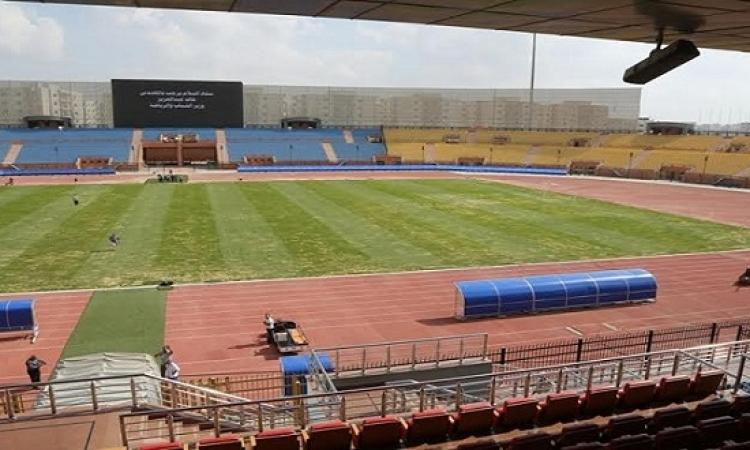 لجنة من الاتحاد الأفريقى تزور ملاعب السويس قبل كأس الأمم الأفريقية