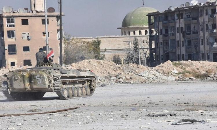 الجيش السوري يدمر تجمعات وخطوط إمداد مسلحي جبهة النصرة في درعا