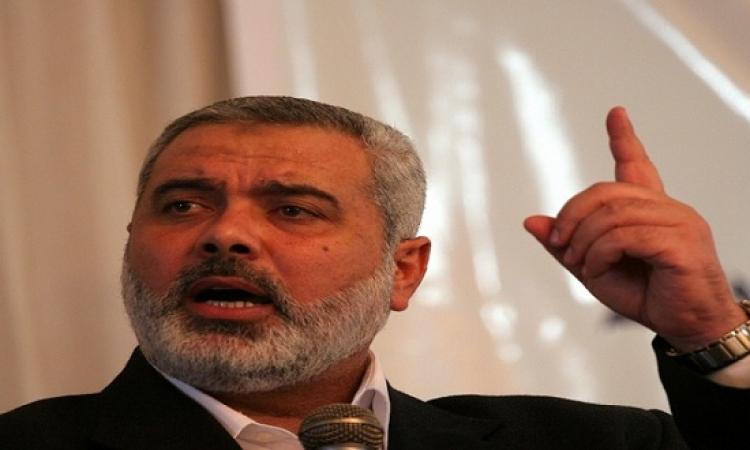 إسماعيل هنية يدعو إلى انتفاضة من أجل القدس