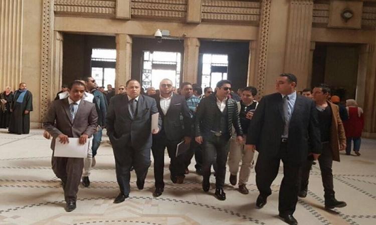 بالصور .. أحمد حسن يتقدم ببلاغ للنائب العام ضد مرتضى منصور