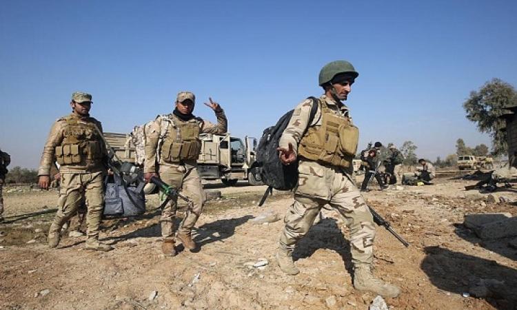 مقتل العشرات من داعش فى معارك شرق الموصل