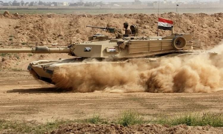"""القوات العراقية تستعيد منطقة """"الريحانة"""" فى أول أيام عملية تحرير """"عنة"""" بالانبار"""