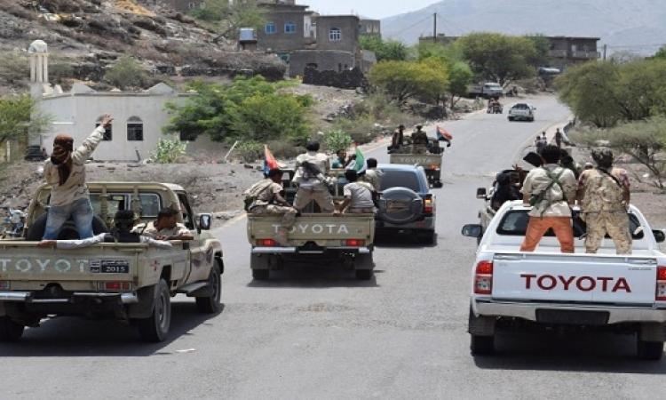 """الجيش اليمنى يبدأ تحرير """"البيضاء"""" بعد طرد الحوثيين من """"شبوة"""""""