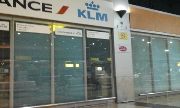 الخطوط الجوية الهولندية تعلق رحلاتها بمطار القاهرة