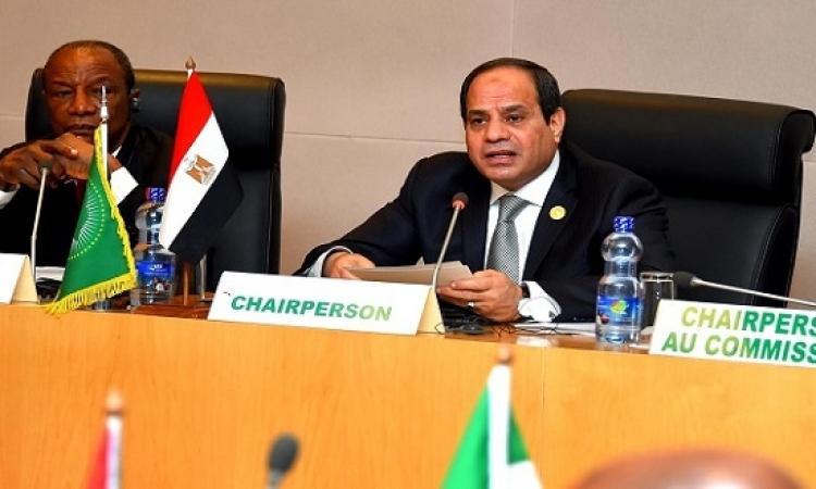 السيسى يرأس اجتماع لجنة المناخ ويقدم تقريراً عن جهود مصر