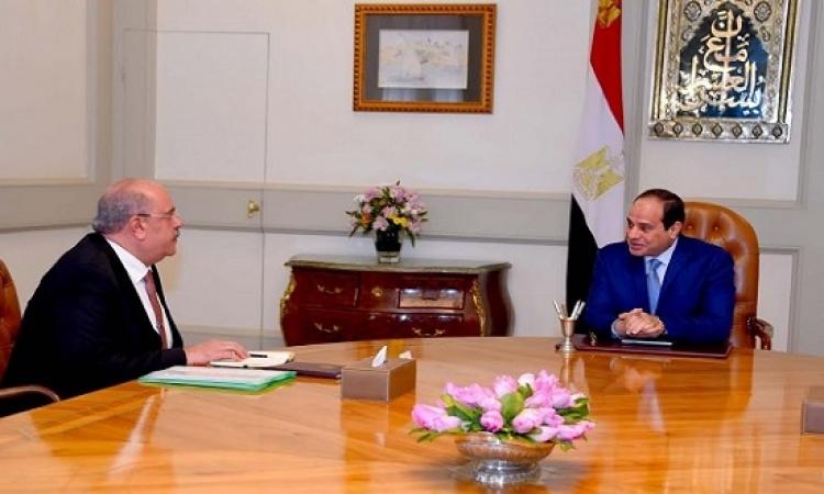 الرئيس السيسى يؤكد أهمية الجهاز المركزى للمحاسبات فى حماية أموال وممتلكات الدولة