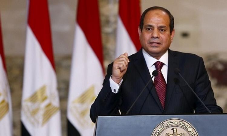 نص كلمة السيسي فى ذكرى يناير: المصريون تحملوا فوق طاقة البشر