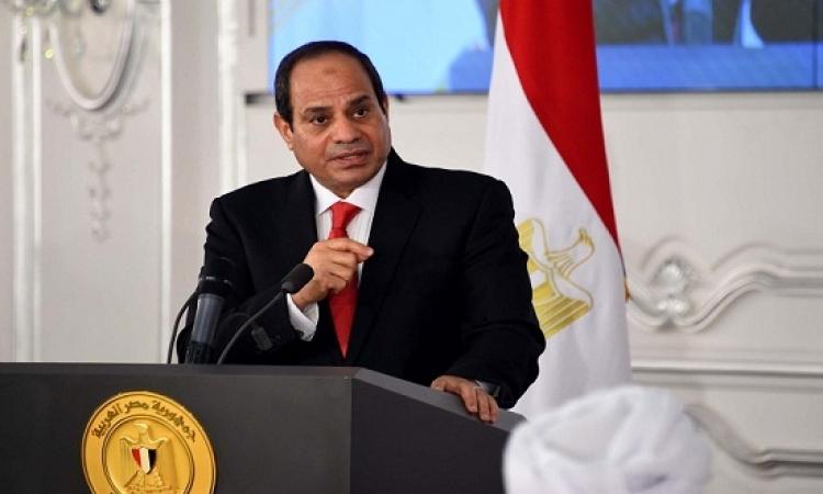 السيسى يشهد اليوم الاحتفال ببدء إنتاج الغاز بمشروع حقول شمال الإسكندرية