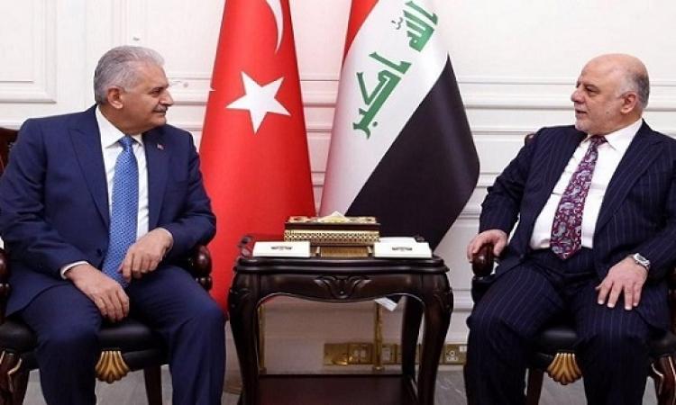 العبادى يبحث مع يلدريم التعاون العراقى – التركى لمحاربة الإرهاب