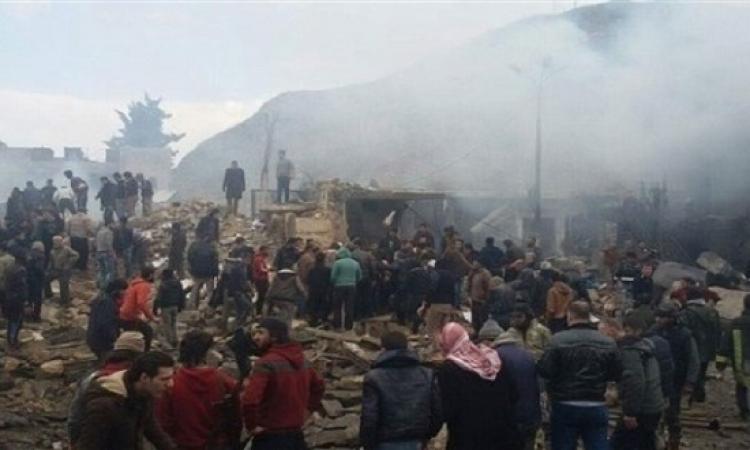 مقتل وإصابة العشرات فى انفجار سيارة مفخخة فى ريف حلب