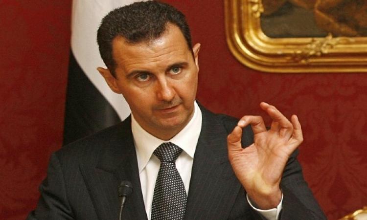 الأسد : أردوغان إخوانجى ويدعم الارهابيين