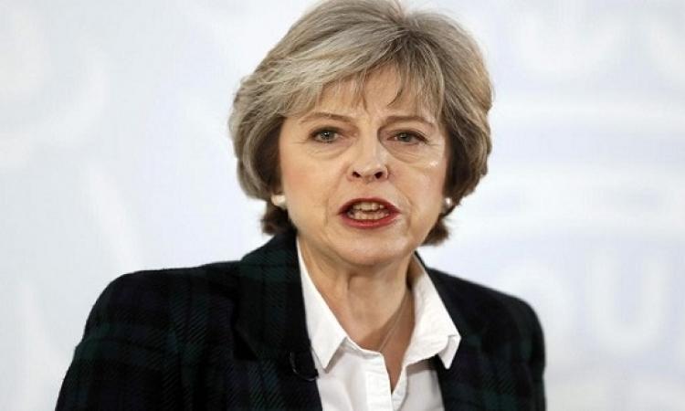"""""""الخروج مهدد"""".. """"ماى"""" تحذر من عدم تمرير خطتها بالبرلمان"""