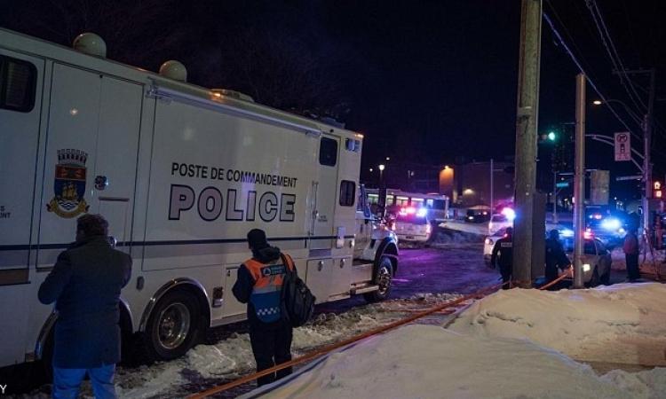 6 قتلى و 8 مصابين فى هجوم على مسجد بمدينة كيبيك الكندية