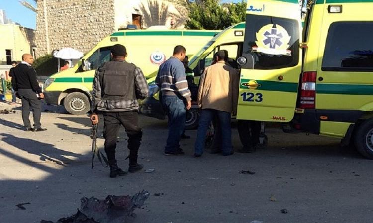 استشهاد 9 ومقتل 5 ارهابيين خلال تصدى قوات الأمن لهجومين على حاجزين أمنيين بالعريش