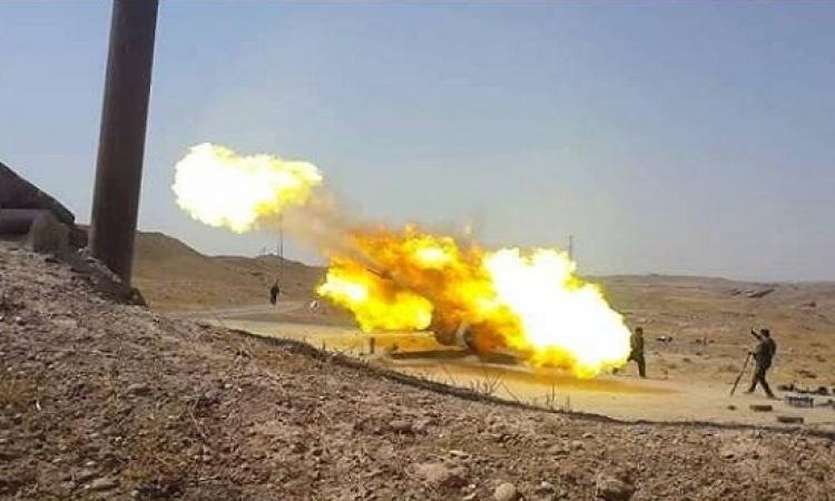 سقوط ضحايا فى قصف مفاجىء لداعش لشرق الموصل