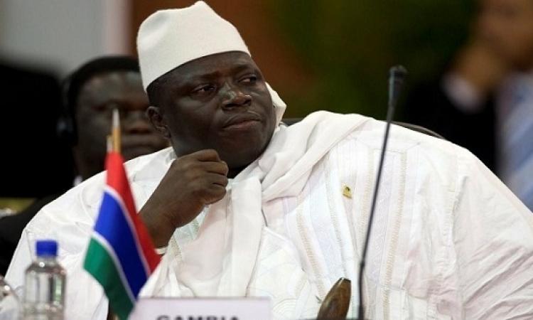 انتهاء سلمى لأزمة جامبيا : جامع يغادر لمنفاه الاختيارى فى غينيا