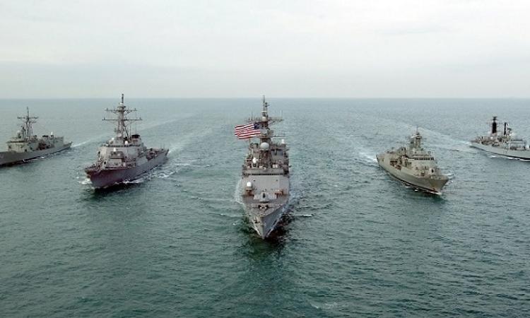 البحرية الأمريكية تطلق طلقات تحذيرية على سفن إيرانية في هرمز