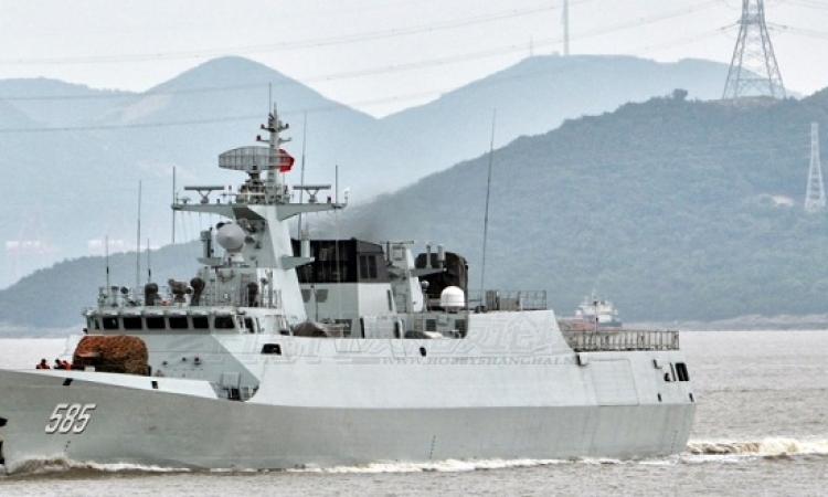 بالفيديو.. تحرك 3 سفن حربية صينية إلى قطر