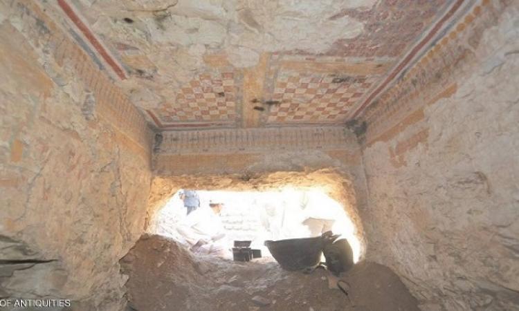 """بالصور .. اكتشاف مقبرة """"الكاتب الملكى"""" فى الأقصر"""