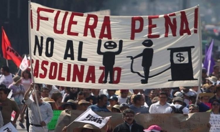 انتفاضة الوقود تتواصل فى المكسيك