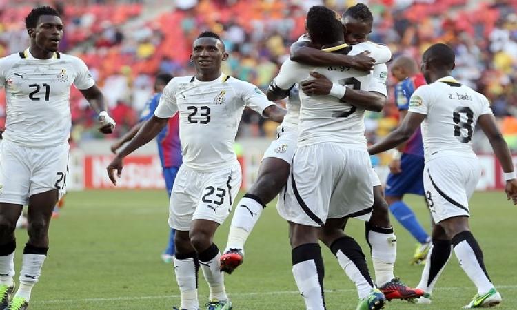 غانا تواجه الكونغو الديمقراطية فى لقاء نارى بأمم إفريقيا