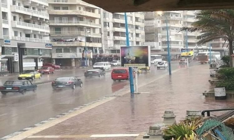 الأرصاد الجوية: اضطراب بالملاحة البحرية بالمتوسط وسقوط أمطار غدا