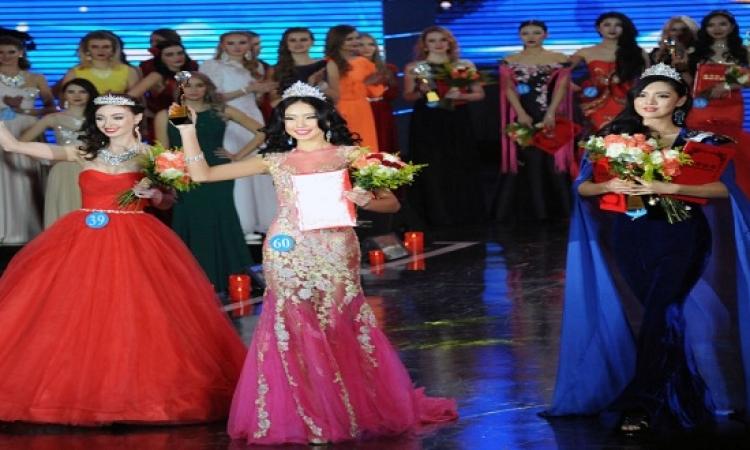 """بالصور.. جمالك جمال…""""ملكة الثلج"""" في الصين"""