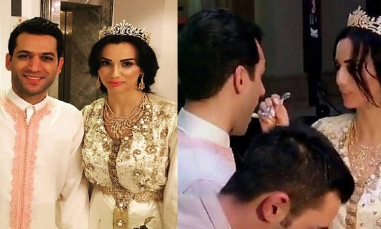 بالصور.. زفاف مراد يلدريم من ملكة جمال المغرب.. حاجة ولا فى الأحلام