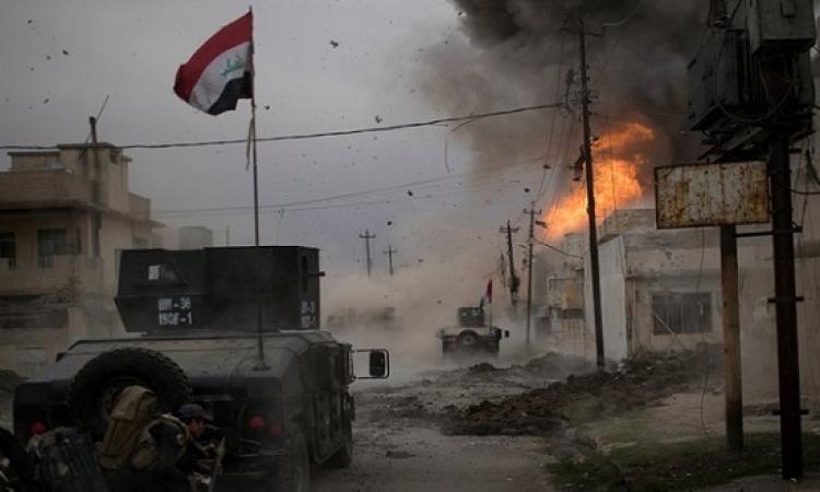 القوات العراقية تحرر حى العروبة والمنطقة الصناعية بالموصل