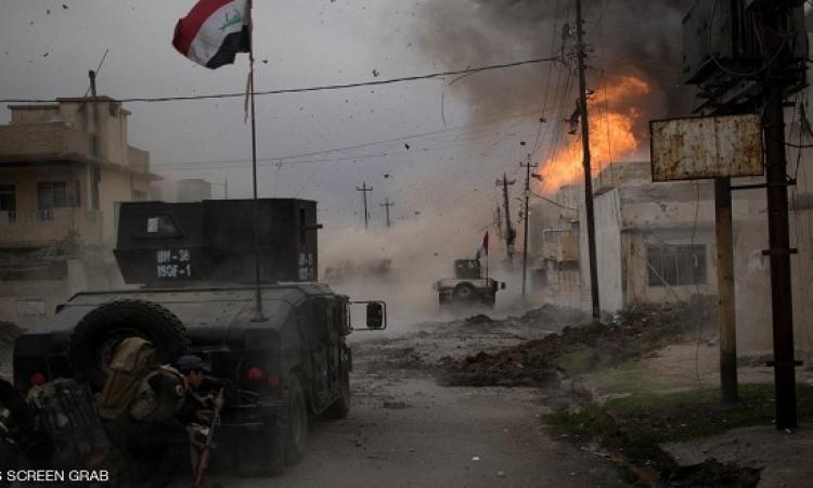 الجيش العراقى يهاجم داعش شمال فى الموصل