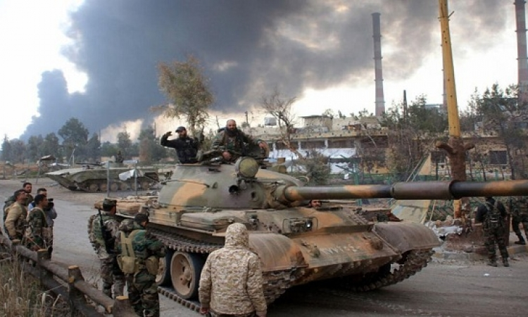 القوات السورية تستعيد السيطرة على مناطق تقدم المعارضة بأطراف دمشق