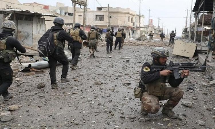 الجيش العراقى يتقدم غرب الموصل ومقتل قيادى من داعش فى غارة للتحالف