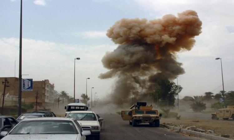 انفجار عبوة ناسفة فى العريش تشعل النيران بالمدرسة