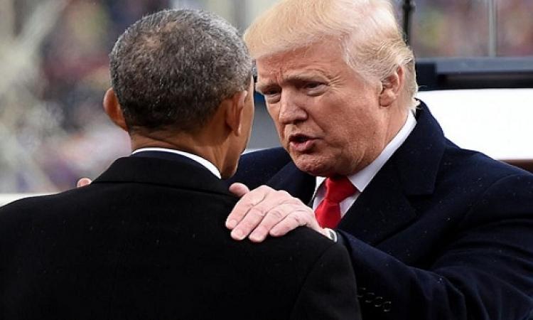 مفاجأة .. ترامب يتهم أوباما بالتجس على مكالماته الهاتفية