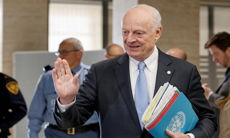 دى ميستورا يزور السعودية وروسيا لبحث عقد جولة جديدة من محادثات جنيف