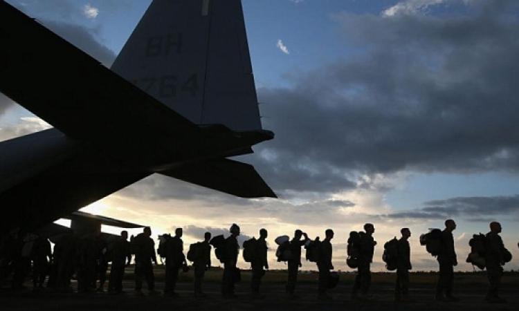 قوات من المارينز الأمريكية تصل سوريا