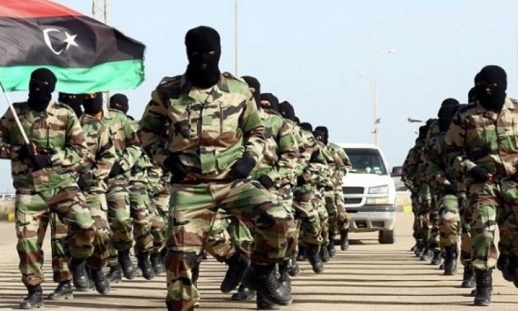 حفتر يرسل كتيبة الصواعق لدعم الجيش الليبى فى منطقة الهلال النفطى