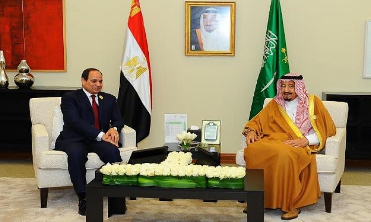 الرئيس السيسى يعود إلى القاهرة قادما من الرياض بعد لقاءه العاهل السعودى