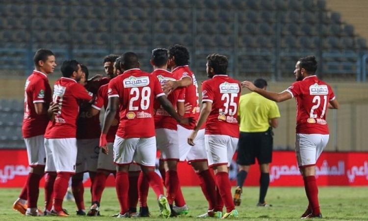 المارد الأحمر يسقط إنبى بأربعة أهداف مقابل هدف